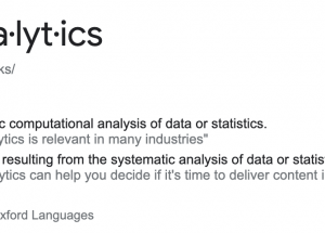 """What Does """"Hockey Analytics"""" Even Mean?"""